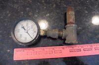 Vintage Marsh Instrument Co Bronze Bushed Movement Pressure Gauge 0-3000