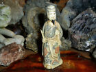 Cow Bone Hand Carving of Ancient Scholar Antique Exceptional and Beautiful Rare