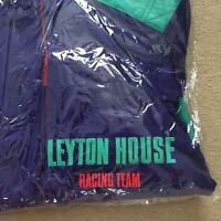 NEW LEYTON HOUSE F1 Team Overalls Motor Racing 80s 90s RARE PURPLE GREEN NEW
