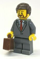 NEW Businessman with Briefcase LEGO Minifigure 40358 City Coffee Cafe NEW