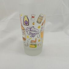 Breeders Cup Breeze at Del Mar Frosted 12 oz Recipe Glass 2017