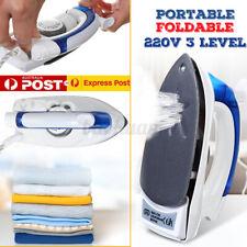 FOLDING Foldable MINI Steam Iron Travel Home Portable Folding Handheld Compact