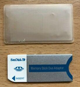 Sandisk Memory Stick Duo Adaptor 20-90-00125 897G