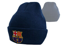 FC Barcelona Beanie FCB Mütze Barca Fanartikel Strickmuetze Erwachsene Kinder
