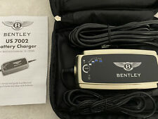 BENTLEY BATTERY CHARGER US 7002 with case and manual