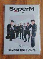 SuperM Beyond Live Beyond the Future Postcard Set Book Official Goods NCT EXO