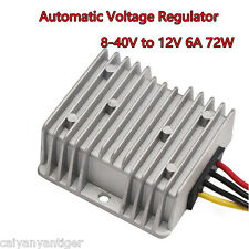 Car Automatic Voltage Regulator  8-40V to 12V 6A 72W Car Power Supply Regulator