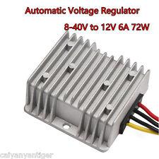 Car Automatic Voltage Regulator  8-40V to 12V 6A 72W Car Power Supply Regulator