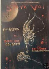 Steve Vai Fillmore 2005 F686 Concert Poster