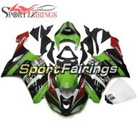 Body Frames For Kawasaki 2007 2008 ZX-6R ABS Injection Green Black Red Fairings
