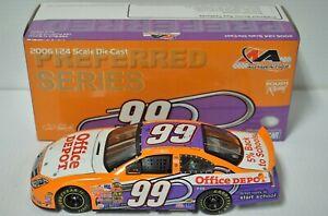 1/24 Carl Edwards #99 Office Depot Back to School 2006 Preferred Car - 1 of 1800
