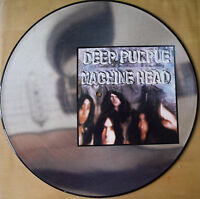 EX/EX! DEEP PURPLE MACHINE HEAD VINYL LP PICTURE PIC DISC RAINBOW BLACKMORE