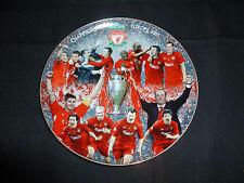Danbury Mint Liverpool FC Champions of Europe 2005 Plate