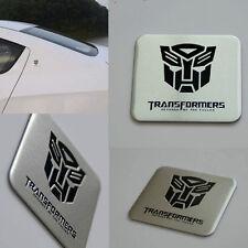 Transformers Autobot Square Auto Aluminium Decal Badge Emblem