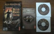 Dead Man's Hand PC CD ROM Game 2004 98/ME/2000/WIN XP Atari Western Cowboy