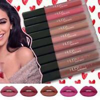 Huda Lipstick Matte Liquid Waterproof Lip Stick Gloss Beauty Makeup 9 Colors AC