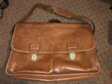 "Authentic Coach 0532 Laptop Organizer Briefcase Bag,Leather,17""L x12""Hx7""W,"