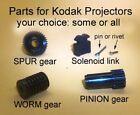 Kodak Carousel projector parts to fix ADVANCE & FOCUS problems