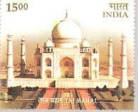 PHILA2100 INDIA 2004 TAJ MAHAL AGRA MNH