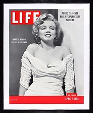 MARILYN MONROE ✯ CineMasterpieces ORIGINAL 1952 LIFE MAGAZINE NEWSSTAND POSTER