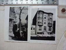 Vintage Photo-2 Photos Sweitzer Album 800 Block Walnut 1920's Allentown PA 1993