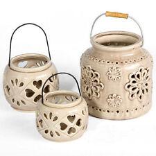 Rustic Ceramic Candle Holders & Accessories