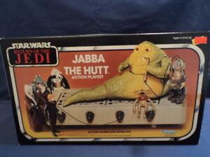 "Star Wars Kenner 1980's ""Jabba The Hut Playset"" N/MINT Ex Shop Stock WOW"