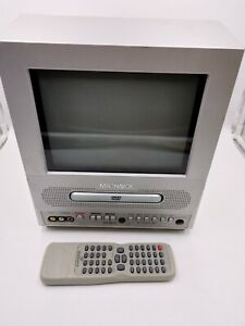 magnavox 9mdpf20 9in crt TV dvd With remote tested retro gaming
