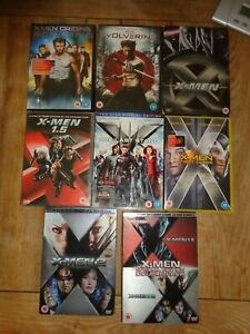 X Men / Avengers / Wolverine last stand first class 1.5  AND MORE  DVD Bundle