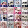 New Full Cover Nail Wraps Waterproof Self-adhesive Nail Stickers Art Decals Tips