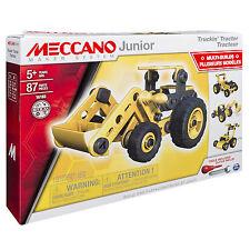 Junior Truckin Tractor 6027019 White 9005359532517 by Meccano