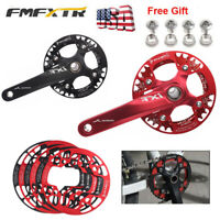 32-42T XC AM DH Mountain Bike Crankset Chainring Chainwheel Chain Guard 104bcd