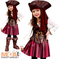 Costumes for All Occasions Fw1558 High Seas Pirate Toddler Girl