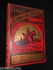 Fores's Sporting Notes and Sketches X - 1893-1st, Hunting, Shooting, Wildfowling