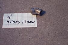 "45 DEGREE ELBOW 1/4"" STAINLESS STEEL 150# npt, pipe fitting n.p.t."