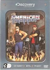 AMERICAN CHOPPER 3 DVD BOX SET - GO DADDY 1 & 2* INTEL 1 & 2 * PEAVEY 1& 2