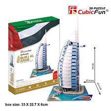 New Burj Al Arab Dubai Hotel 3D Model Jigsaw Puzzle 101 Pieces Large size MC101H