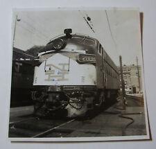 USA808 1962 NEW YORK NEW HAVEN & HARTFORD Railroad TRAIN No2008 PHOTO - USA