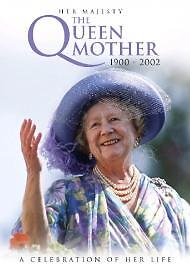 HER MAJESTY THE QUEEN MOTHER 1900 - 2002 DVD - A CELEBRATION OF HER LIFE