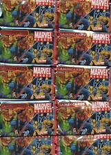 Marvel Heroes/Lamincards/10 Tüten OVP/Edibas