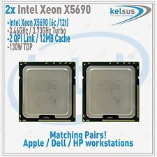 Intel Xeon SLBVX X5690 6 core CPU 3.46GHz for HP Z800 Workstation with Warranty