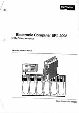 HECTRONIC KINZLIE ELECTRONIC COMPUTER ER4  2098 Technical Product Manual