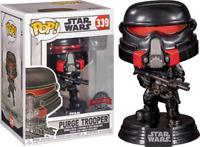 RARE Purge Trooper 339 STAR WARS Funko Pop Vinyl New in Mint Box + Protector
