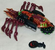 Transformers Beast Wars Tarantulas Transmetals 100% Complete Deluxe 1998