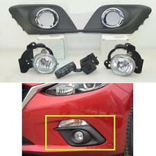 FOG LIGHT LAMP Kit & Switch without Auto Kit for Mazda 3 2014 2015 2016