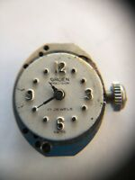 Vintage 17 Jewel Gruen Precision Swiss Small Face Watch Movement