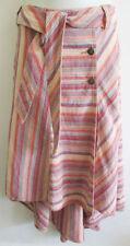 Per Una Calf Length Linen Asymmetrical Skirts for Women