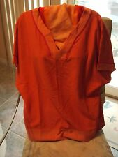 WOMANS CLOTHING COLDWATER CREEK TOP W/SHORT SLEEVES   SIZE.MED.