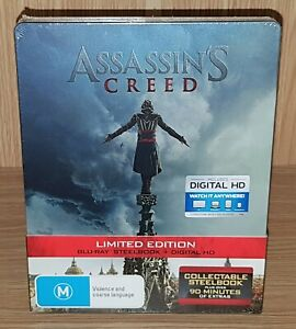 Assassin's Creed Limited Edition Steelbook Blu-ray - Brand New & Sealed