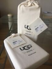 UGG Home Flannel Luxe Herringbone Cream Pillow Sham  King Set of 2